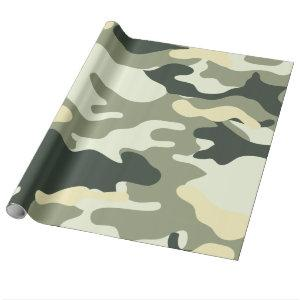 Hunters Camo or Camouflage Pattern Wrapping Paper