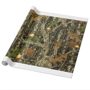 Hunting Camo Wrapping Paper