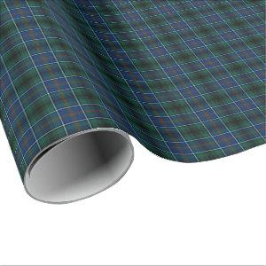 Innes Clan Hunting Tartan Wrapping Paper