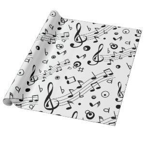 I've Got the Music in Me Wrapping Paper