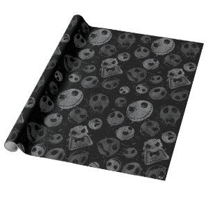 Jack Skellington Pattern Wrapping Paper
