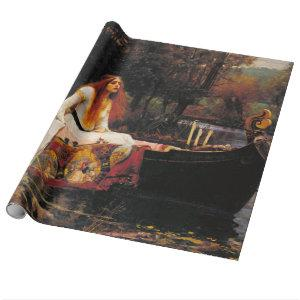John William Waterhouse - The Lady Of Shalott Wrapping Paper