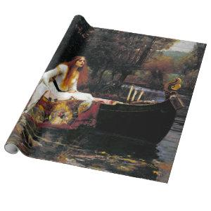 John William Waterhouse The Lady of Shalott Wrapping Paper