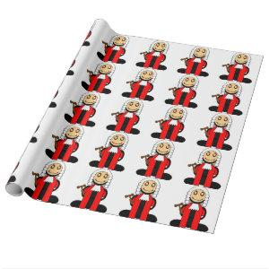 Judge (plain) wrapping paper