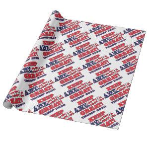 Keep-America-Great-Trump Wrapping Paper
