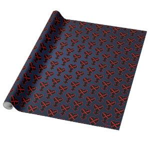 Kingdom Hearts | Emblem Heartless Symbol Wrapping Paper