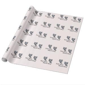 Kitty Cat Wrapping Paper