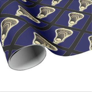 Lacrosse Wrapping Paper