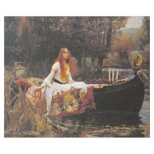 LADY OF SHALOTT BY WATERHOUSE DECOUPAGE WRAPPING PAPER