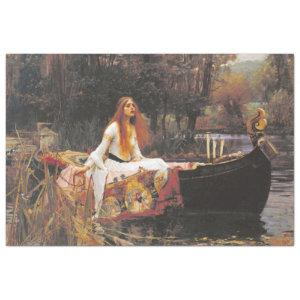 LADY OF SHALOTT BY WATERHOUSE TISSUE PAPER