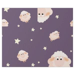 Lamb And Star Combination Wrapping Paper