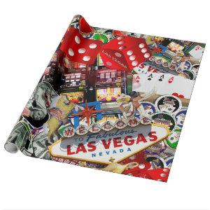 Las Vegas Icons - Gamblers Delight Wrapping Paper