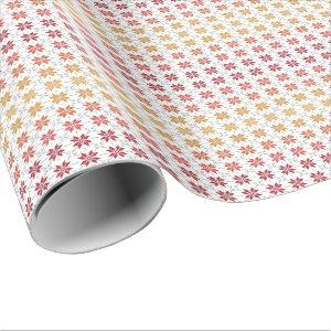 Latvian Morning Sun IV amber Wrapping Paper