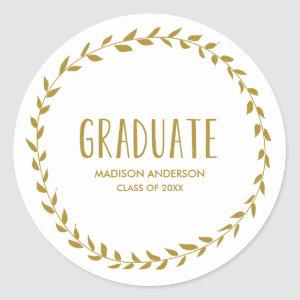 Laurel Border | Graduation Sticker
