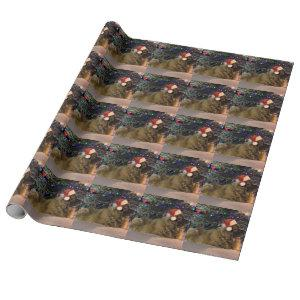 Leonberger Christmas Wrapping Paper