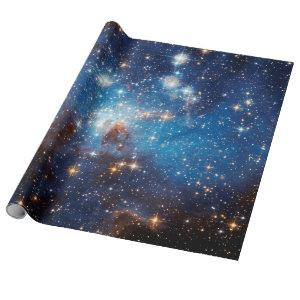 LH 95 Star Forming Region - Hubble Space Photo Wrapping Paper
