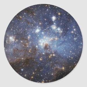 LH 95 Star forming region NASA Classic Round Sticker