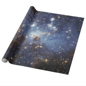 LH 95 stellar nursery space photography Wrapping Paper