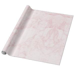 Light Pink Marble Gift Wrapping Paper