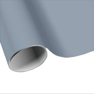 Light Slate Gray Wrapping Paper