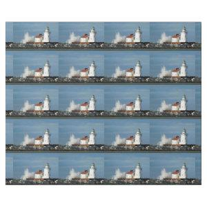 Lighthouse with Wave Wrapping Paper