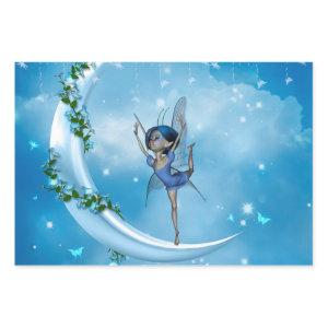 Little fairy dancing on the moon wrapping paper sheets
