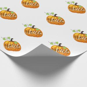 Little Pumpkin | Cute Gender Neutral Baby Wrapping Paper