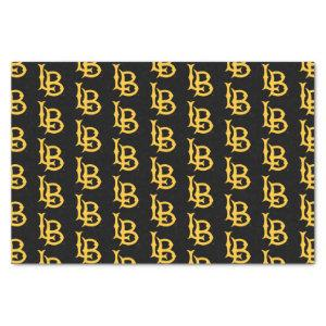 Long Beach State Logo Tissue Paper