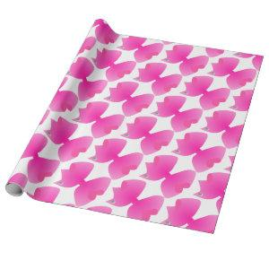 Lots of Big Pretty Pink Bows - Unique Gift Wrapping Paper