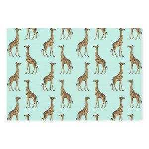 Lovely Giraffes Wrapping Paper Sheets