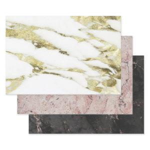 LUXURY MARBLE HEAVY WEIGHT DECOUPAGE   SHEETS