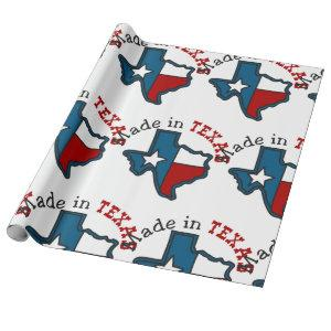 Made In Texas Wrapping Paper