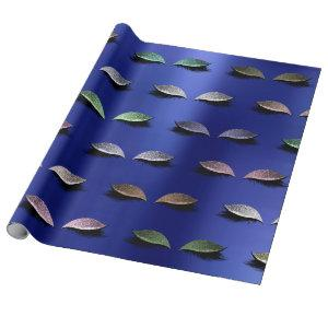 Makeup Blush Eyes Beauty Sapphire Blue Cobalt Wrapping Paper