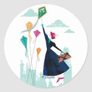 Mary Poppins | Magic in the Air Classic Round Sticker