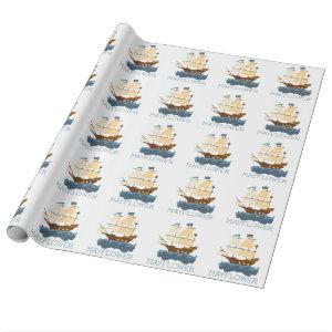 Mayflower Wrapping Paper