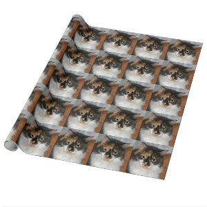 MeMeow Wrapping Paper