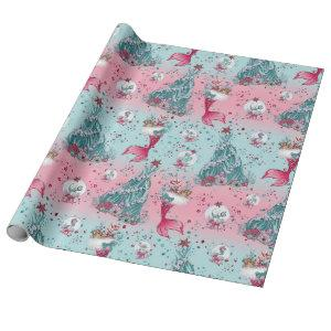 Mermaid Christmas Wrapping Paper