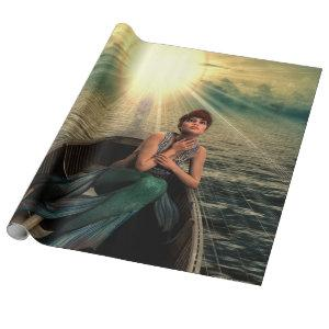 Mermaid Fantasy Wrapping Paper