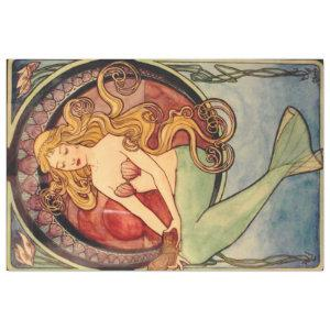 Mermaid Furniture Decoupage paper