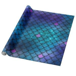Mermaid Matte Gift Wrapping Paper