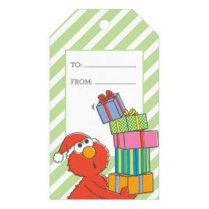 Merry Christmas Elmo Gift Tags
