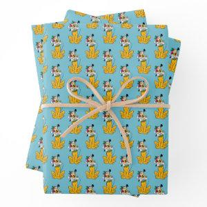 Merry Christmas | Pluto Santa Claus Wrapping Paper Sheets