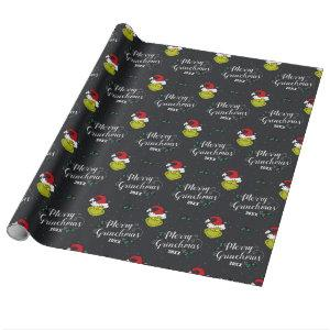 Merry Grinchmas | Grinch Holiday Wrapping Paper
