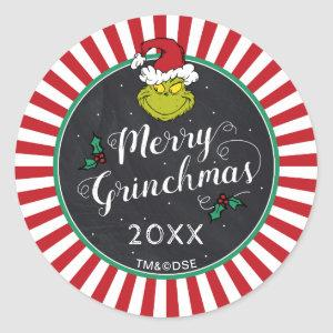 Merry Grinchmas | The Grinch Holiday Party Classic Round Sticker