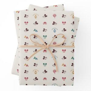 Mickey | Laughs Start Here Pattern Wrapping Paper Sheets
