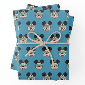 Mickey   Mickey Tropical Sunglasses Wrapping Paper Sheets