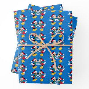 Mickey & Minnie | Christmas Love Wrapping Paper Sheets