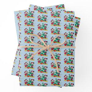 Mickey & Minnie | Decorate the Christmas Tree Wrapping Paper Sheets