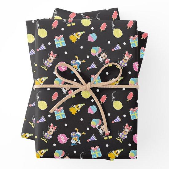 Mickey & Minnie | Time to Party Wrapping Paper Sheets