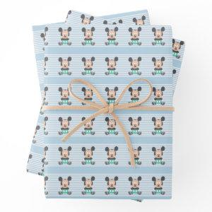 Mickey Mouse | Baby Mickey - Add Your Name Wrapping Paper Sheets